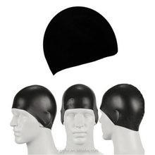 Silicone Swimming Cap With Customized Company Logo/long Hair Swim Cap
