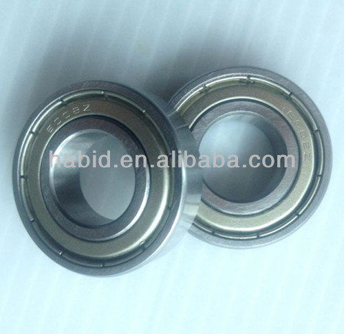 Sliding door/window/fan/pump deep groove ball bearing 6002