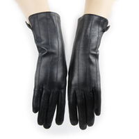 Ladies Medium Length Genuine Sheep Leather