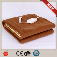 Hot sale polyester 220V electric heating blanket/electric blanket with competitiveness price