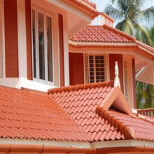 ASA Synthetic Resin Cheap Metal Roof Tile Sheet To Zambia
