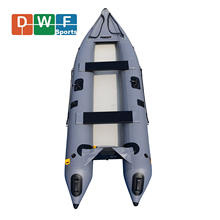 Factory Price Customized 0.9 PVC Inflatable Fishing Kayak Boats with Paddles for Sale