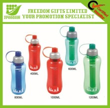 Logo Printed Eco-friendly Sports Plastic Water Bottle