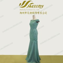 Lace embroidery sash off-shoulder elegant latest hot sale gambar sex frozen elsa dress