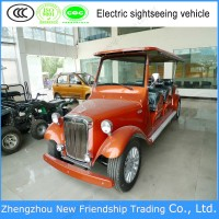 EEC approval 8 seater sale electric car sightseeing