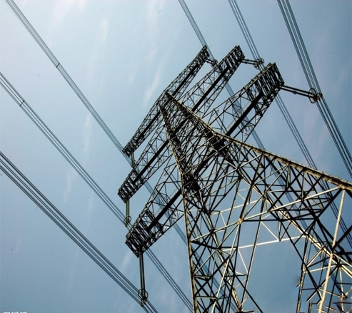 Electric lattice masts steel pole for asia countries power transmission angle tubular tower