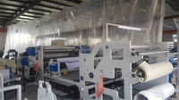 PE membrane plastic/paper lamination fabric machine