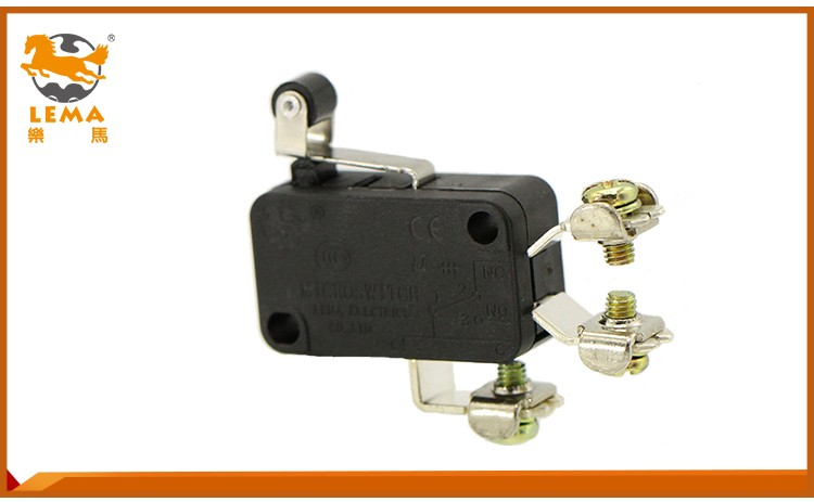 KW7-32L pin plunger normally open actuator micro switch