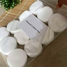 Factory Custom Cosmetic Round Cotton Pad Nonwoven Makeup Remover Cotton Pad