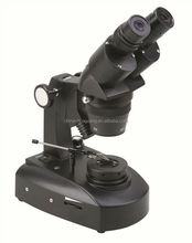 XTX-7C-ZB 20X/40X diamond microscope with darkfield attachment and jewel tweezer, microscope for diamond inspection