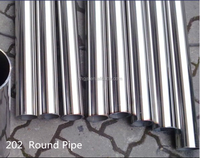 Superior Quality TISCO 304 Corrugated Colored Stainless Steel Pipe with Reasonable Price