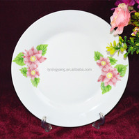 Decal Personalized Ceramic Plates Bulk,Fresh Design Ceramic Plate With Decal Printing