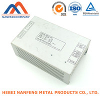 White Box Factory Work OEM Aluminum Bending White Box