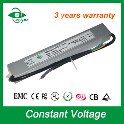 30w 1.25A constant voltage led power supply 24v slim