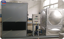 5 Ton Superdyma Closed Circuit Counter Flow GTM-1 Wet Cooling Tower For GSHP Water Condenser