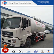 DONGFENG TIANJIN 10000cbm Powder and particle material tank truck with cheap price