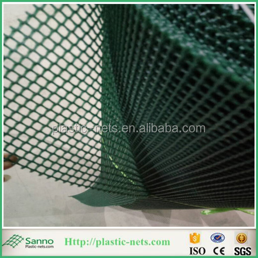 100% New Virgin HDPE Extruded Plastic Fencing Mesh White Colour