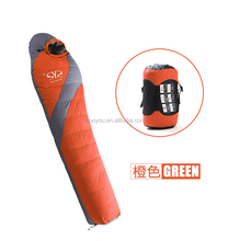 Sleeping nylon bag baby sleeping inflatable sleeping bag for cold weather