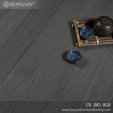 2017 low MOQ dark grey factory supply strand woven bamboo flooring