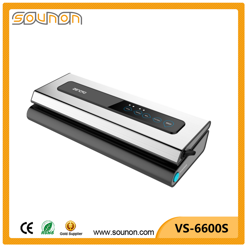 2017 New Vacuum Sealer Home Kitchen Appliance for Food Portable Automatic Household Type Food Vacuum Sealer