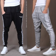 China Gong Fu Trousers Men Cotton Chino Goalkeeper Loose Sports Pants