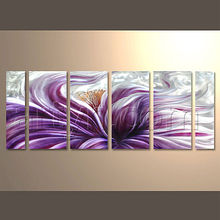 Modern Abstract Wall Decoration Aluminium Painting