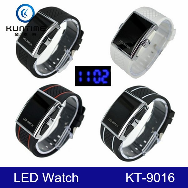 2016 china fashion LED digital sports watch for men