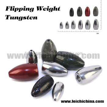 Wholesale flipping tungsten fishing weight buy tungsten for Cheap tungsten fishing weights