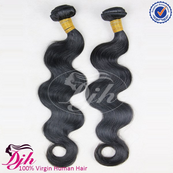 Wholesale distributor of 7a virgin remy brazilian human hair extension body wave hair weave