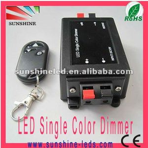 Factory offer DC12V 96W led dimmer 12v wireless(Dimmer for single color )