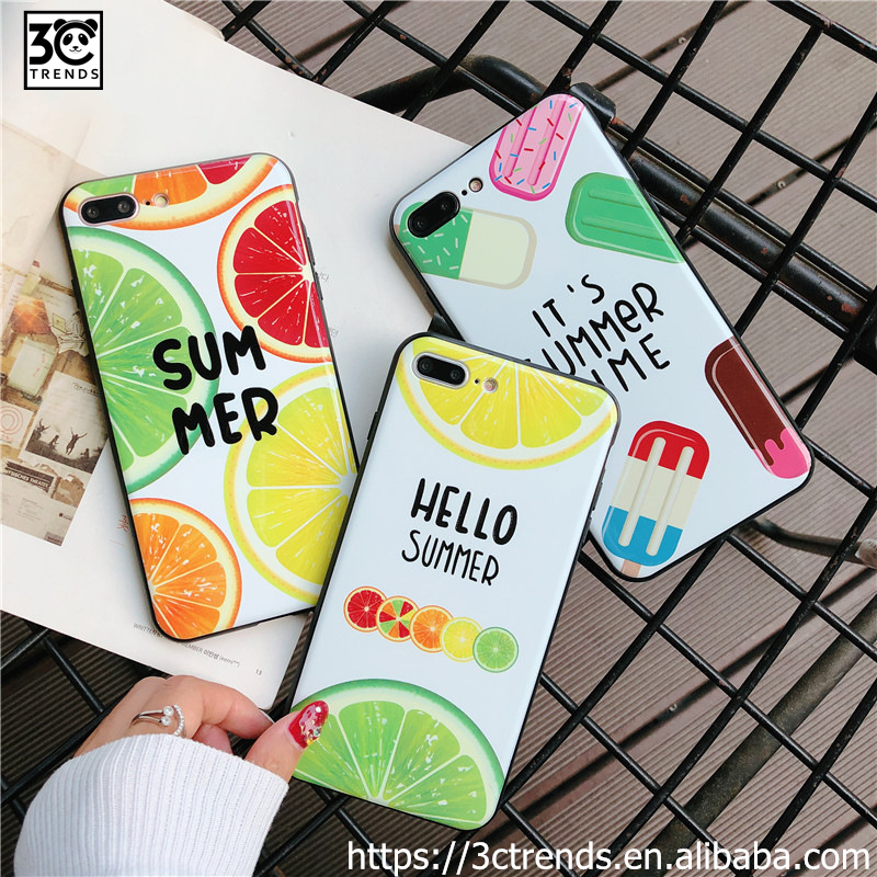<strong>A06</strong> lemon ice cream summer tpu phone case for samsung phones s10