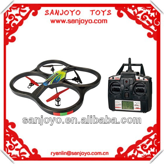 2014 NEW toy X129 rc propel quadcopter w/LCD screen 2.4G 5CH 360 rolling similar with wl v262 rc quadcopter helicopter