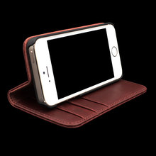 for Iphone 5s Leather Case with Magnetic Closure