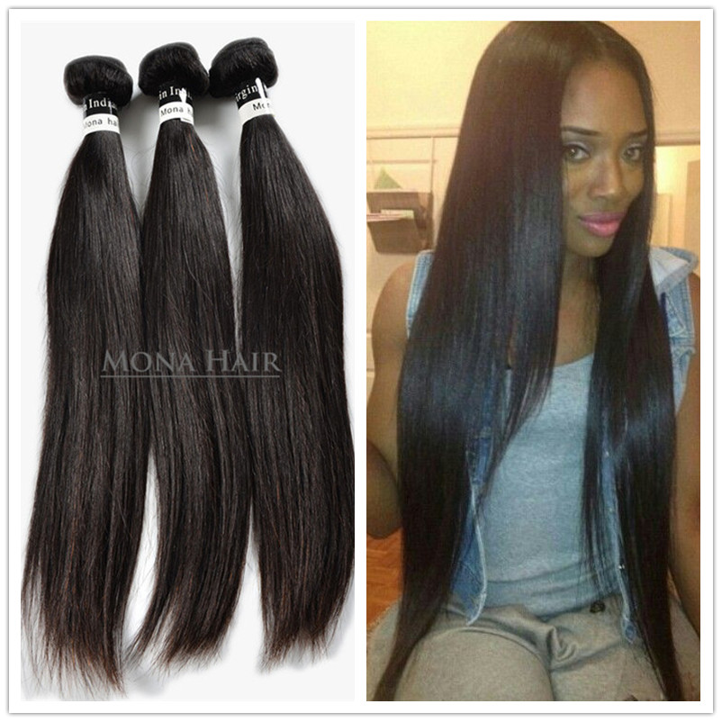 Wholesale Alibaba 8a Grade Hair Extension Human,Remy Straight Natural Human Hair, Raw Temple Indian Hair