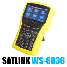 SATLINK WS-6936 DVB-S tuner DVB-T tuner Digital Sat Finder Meter in stock