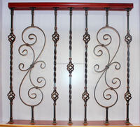 lowes handrails/wrought iron railing parts