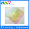 Manufacturer New style backup stand fancy case for samsung note 4