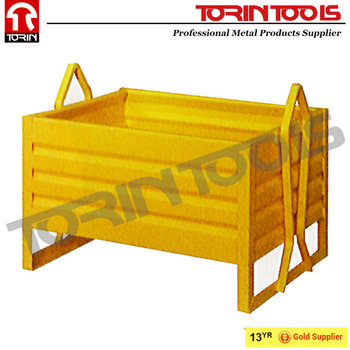 Manufacturer Heavy Duty Industrial Storage Steel Stackable Box