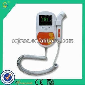 Chinese Portable Handheld Cheap Color Pocket Fetal Doppler Baby Doppler For Hospital Clinic And Home