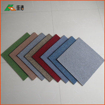 2018 hot sale easy removeable 50*50 PP carpet tile