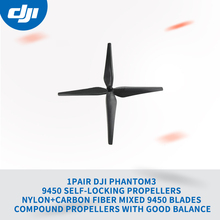 1pair DJI Phantom3 9450 Self-Locking Propellers Nylon+Carbon Fiber Mixed 9450 Blades Compound Propellers with Good Balance