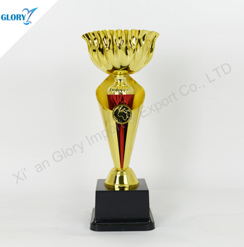 China Quality Cup Shape Awards Plastic Trophy for Wholesale