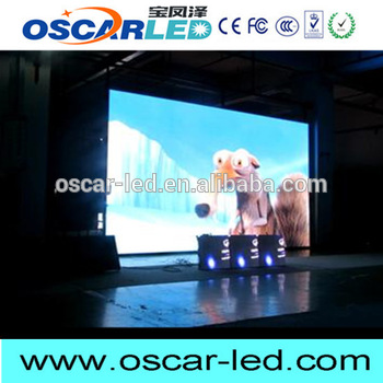Brand new xxx and video xxx 2015 new product indoor p5 led display Oscarled solar power outdoor led sign with CE certificate
