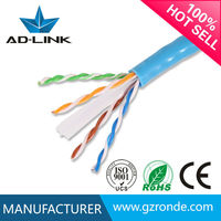 4 Pairs CM 0.57MM UTP Cat6 HS Code For Cable