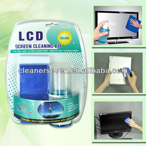 Computer screen cleaning kit / laptop cleaner