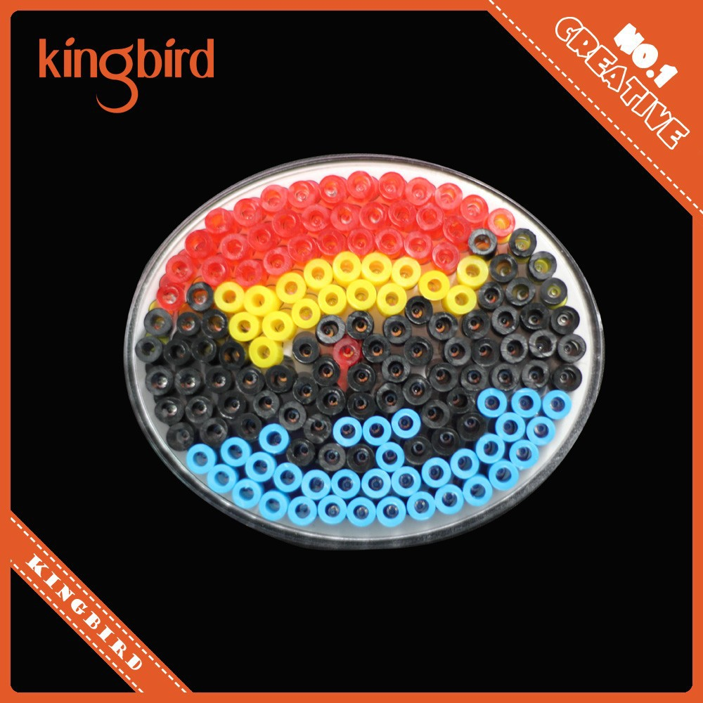 Kingbird Popular Kids Educational Toys Plastic 5mm Hama Perler Beads