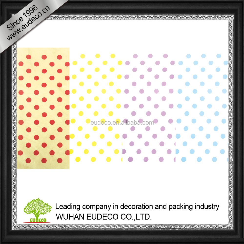Craft paper in Dots design for flower wrap and decoration -01