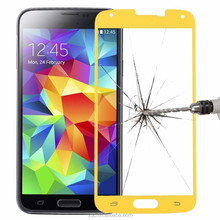 Colorful Mirror Tempered Glass Film Screen Protector for Samsung S5