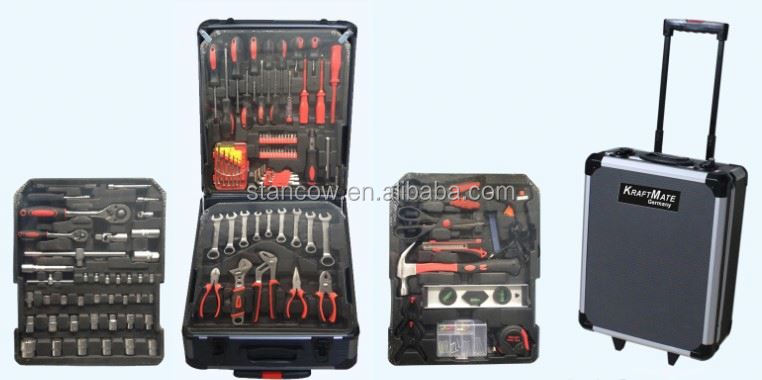 Professional 186 trolley tools box (tools;tool kit)