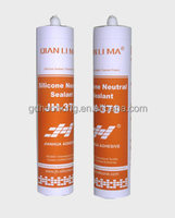 Transparent neutral silicone sealant